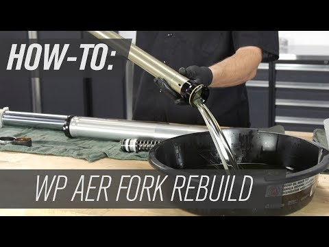 How To Rebuild The WP AER Motorcycle Forks