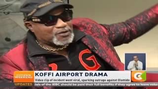 Citizen weekend: Koffi Olomide on the spot