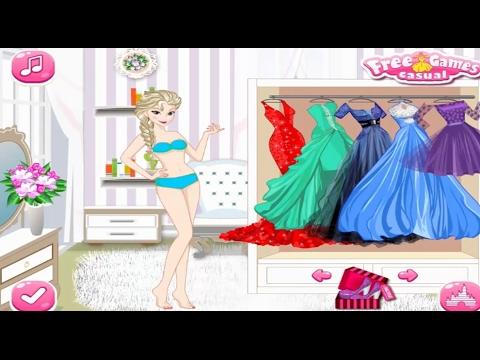 Juegos De Princesas Elsa Frozen Para Vestir Y Maquillar Gratis