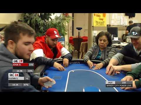Windy City Poker Live April 14th, Winner Take ALL SNG