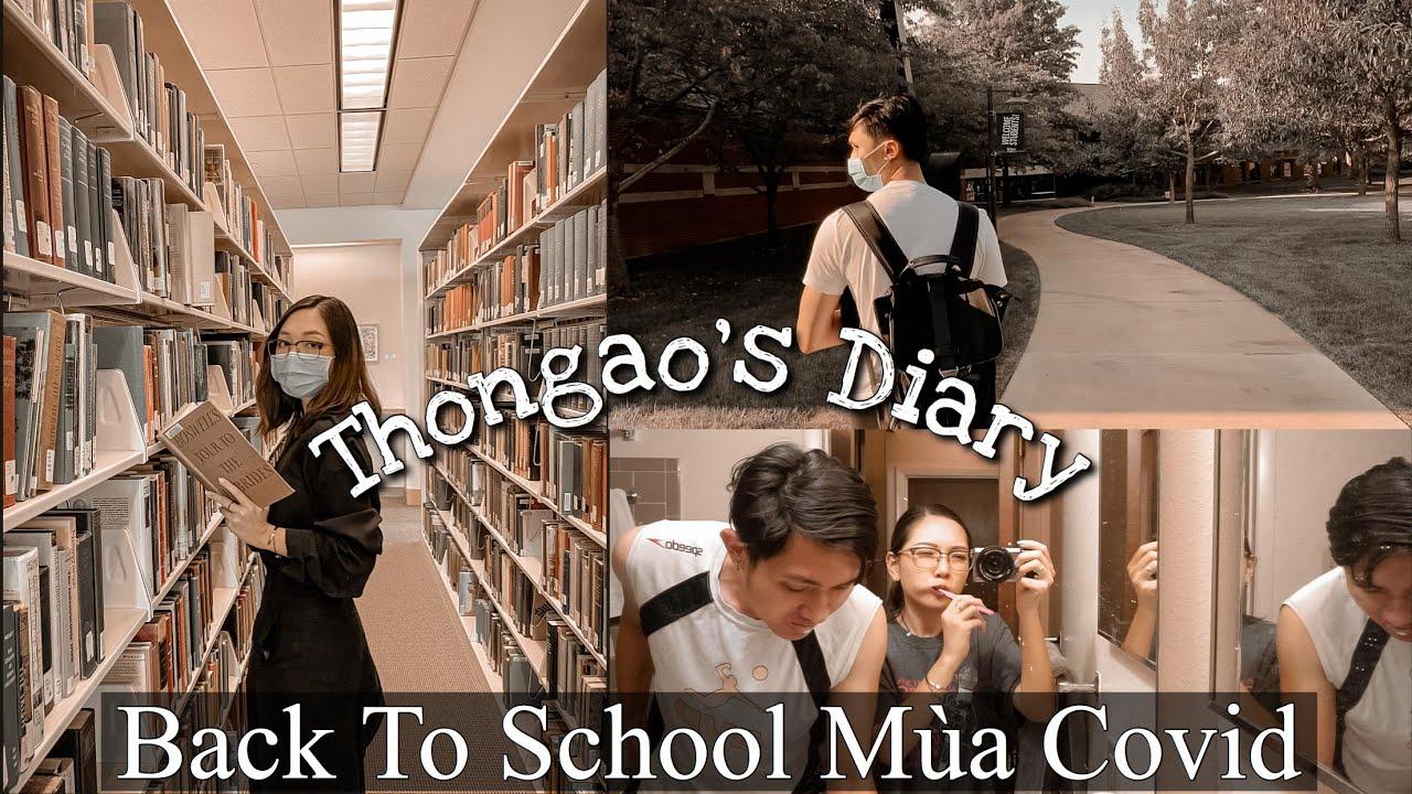 Thongao's Diary - Đi Học Lại Ở Mỹ Giữa Mùa Dịch , Chuẩn Bị Đón Thêm Thành Viên Mới | Thỏ & Alex |