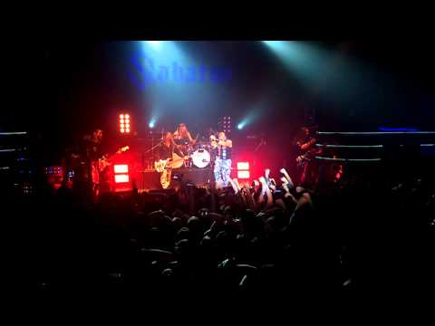 Sabaton - The Art of War [Live] Minsk, Belarus 13.03.15