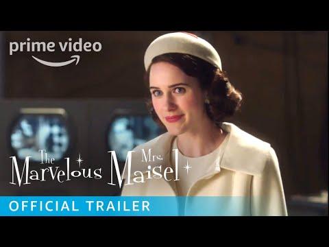 The Marvelous Mrs. Maisel Season 2 - Official Trailer [HD]   Prime Video