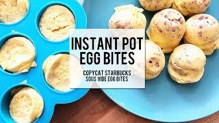 Instant Pot Egg Bites - Copycat Starbucks Sous Vide Egg Bites!