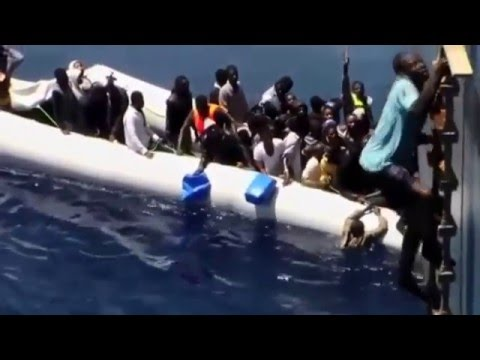 Illegal Africans entering European Countries through sea (Do or Die moments)