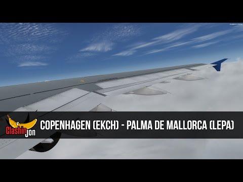 [P3D] SAS22 | Copenhagen (EKCH) - Palma de Mallorca (LEPA) | Airbus A321