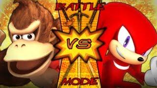 DONKEY KONG vs KNUCKLES (Nintendo vs Sega) | BATTLE MODE | EP. 48
