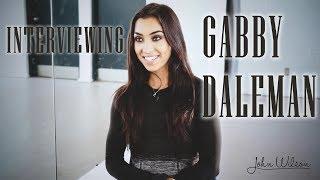 GABRIELLE DALEMAN EXCLUSIVE INTERVIEW by John Wilson Blades