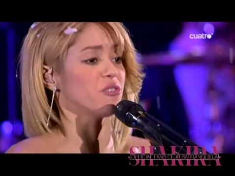 Shakira- Antes de las 6 - Live 40 principales.