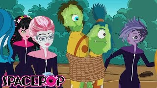 Escape from the Guard Dudes | SpacePOP Season 7 Episode 8 | Kid Genius Cartoons