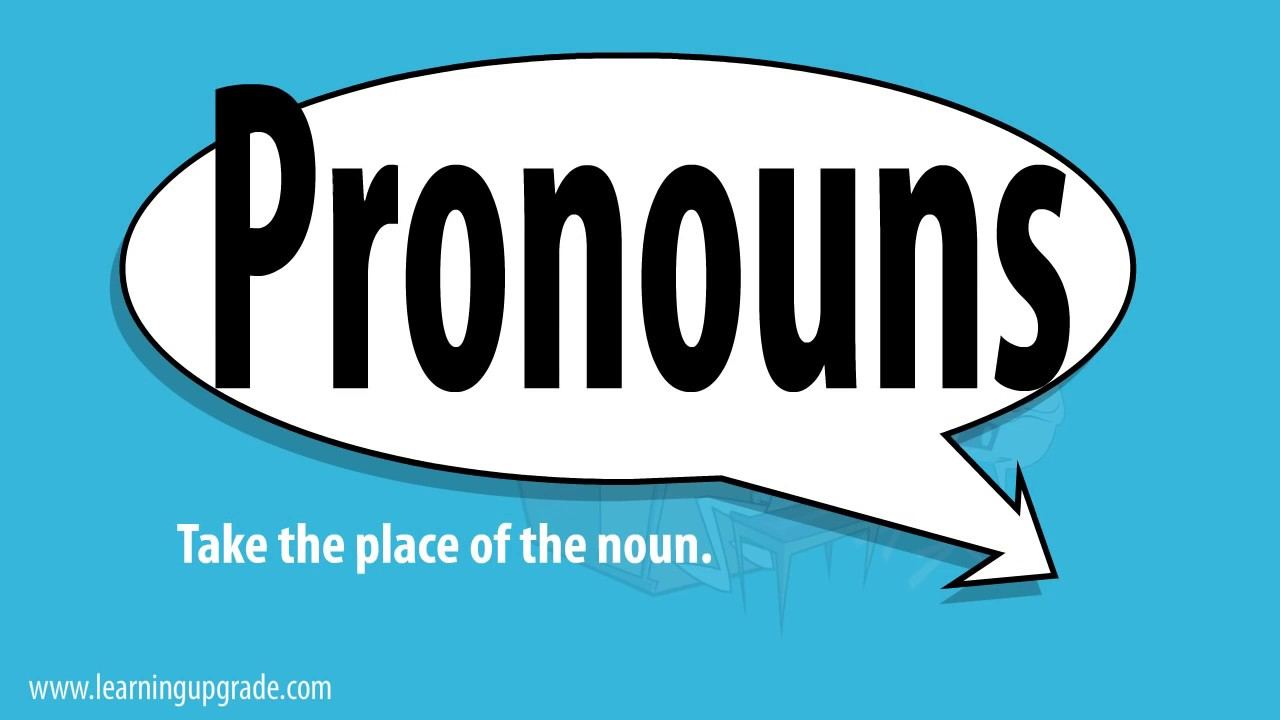 hight resolution of Pronouns   Scoop.it