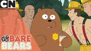 We Bare Bears | Grizzly The Fire Fighter | Cartoon Network UK