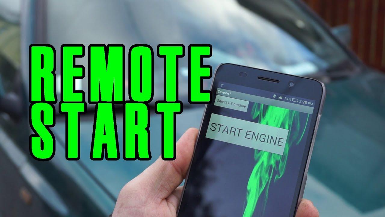 Volkswagen Remote Start Using Bluetooth Arduino Android App Youtube