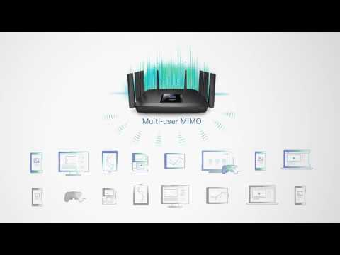 Meet the Linksys Max-Stream AC5400 Router with MU-MIMO Technology