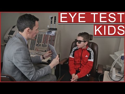 Children's Eye Test | Frankie visits John Laverty Opticians