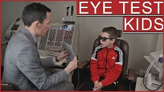 Children's Eye Test | Frankie visits John Laverty Opticians in Coleraine