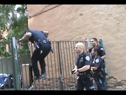 41Pct NYPD Officers Are Left In The Dust By Two 12 Year Olds They We're About To Harass