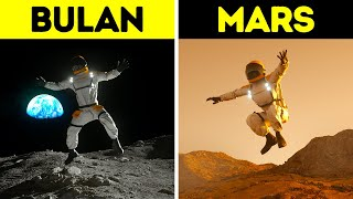 Seberapa Tinggi Lompatanmu di Planet Lain?