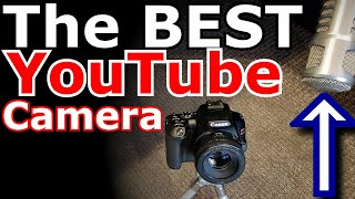 The BEST YouTube camera is...your microphone.