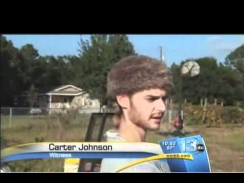 Man in Coonskin Hat is Our Favorite News Eyewitness