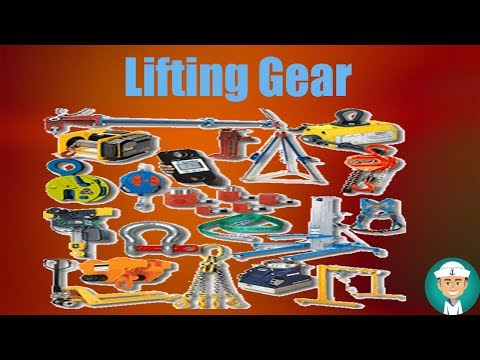 Lifting Gear - Document, Inspection And Maintenance Of Lifting Gear