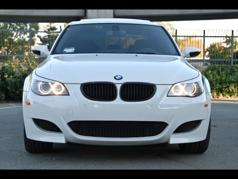 2015 bmw m5 e60 white tuning youtube. Black Bedroom Furniture Sets. Home Design Ideas
