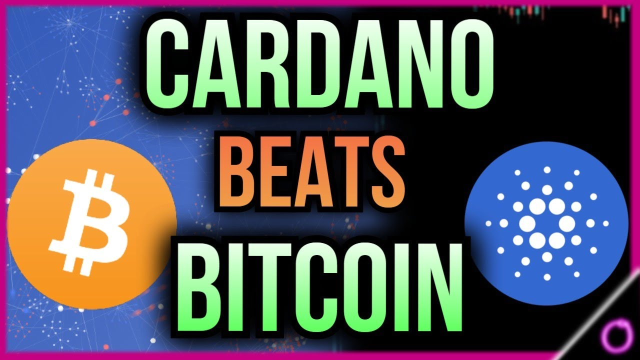 SHOCKING Cardano will out perform Bitcoin in 2021