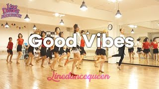 Good Vibes Line Dance (Improver) Fred Whitehouse Demo & Count