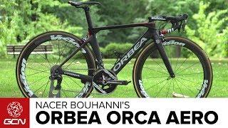 Nacer Bouhanni's Orbea Orca Aero Pro Bike