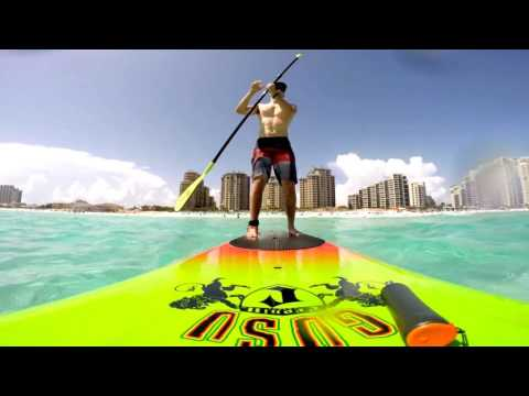 Destin 2015: Paddleboarding Day 1