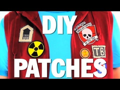 HOW to MAKE PATCHES!! - DIY - Threadbanger