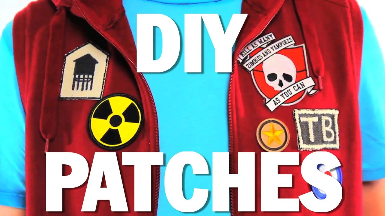 How To Make Patches Diy Threadbanger Youtube