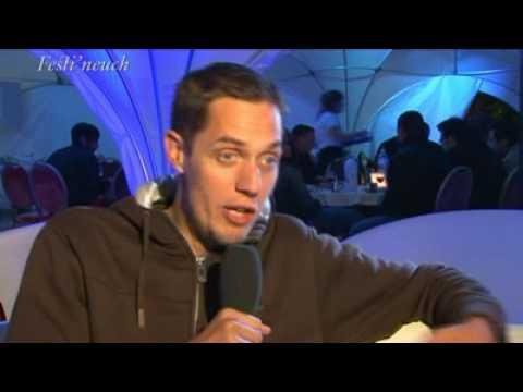 Interview de Grand Corps Malade à Festi'neuch 2009