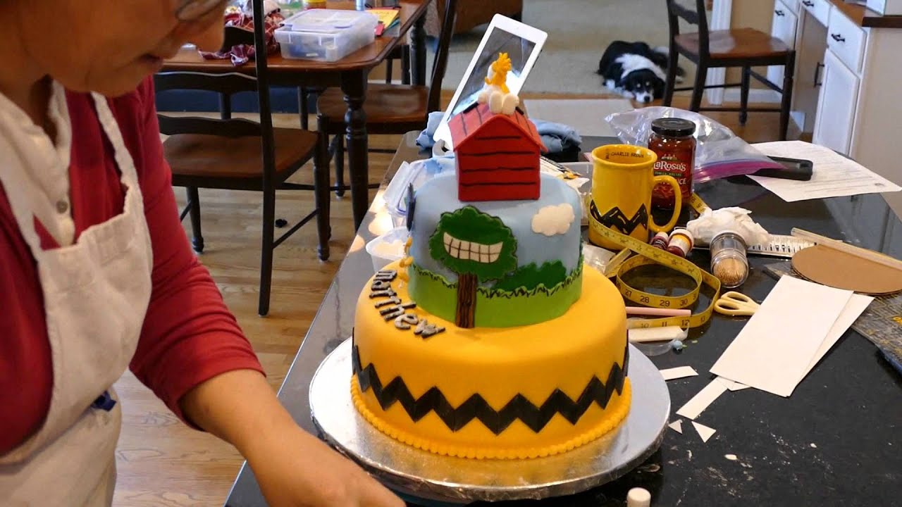 Peter Max Birthday Cake