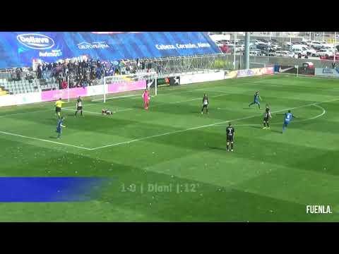 CF Fuenlabrada 4-0 Racing de Ferrol. Ocasiones y goles