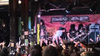 UTG TV: Black Veil Brides - We Stitch These Wounds (Live @ SXSW 2011) (1080p HD)
