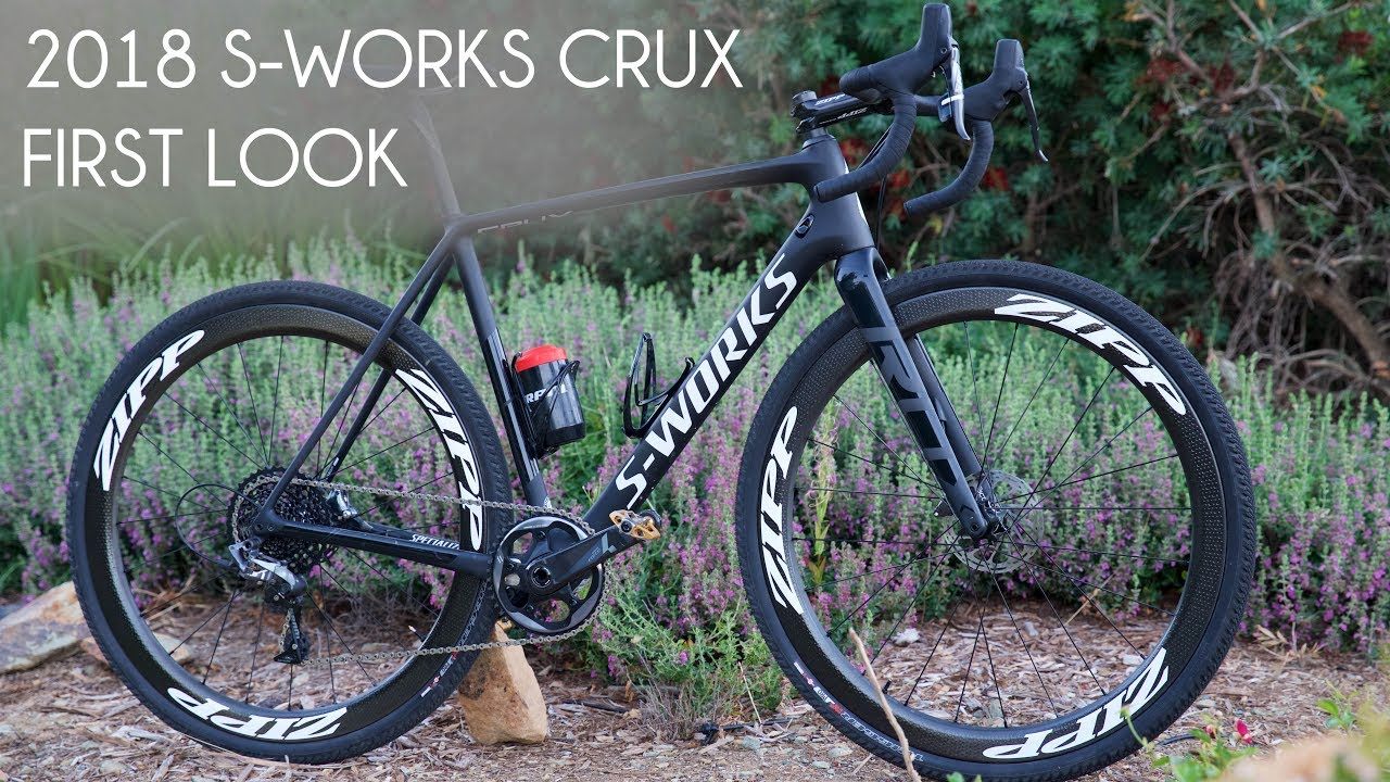cbdea226740 First Look - 2018 Specialized Crux . VLOG 276 - YouTube
