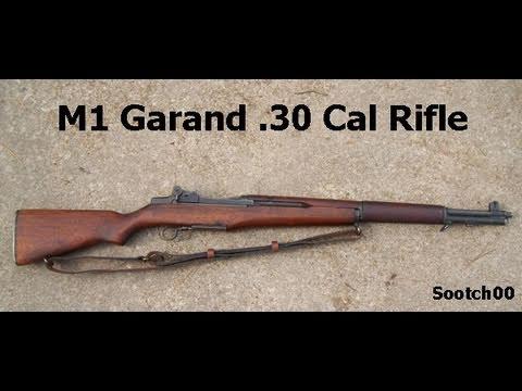 M1 Garand  30 Cal  Rifle