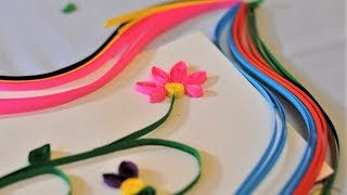 DIY. Квиллинг для детей. Детские поделки из бумаги в технике квиллинг. Paper quilling for children