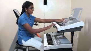 ajeeb dastan hai yeh from dil apna aur preet parai lata mangeshkar on keyboard by vany vinayakumar
