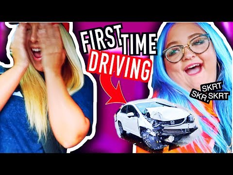 DRIVE WITH ME *FIRST TIME DRIVING*  Lauren Godwin