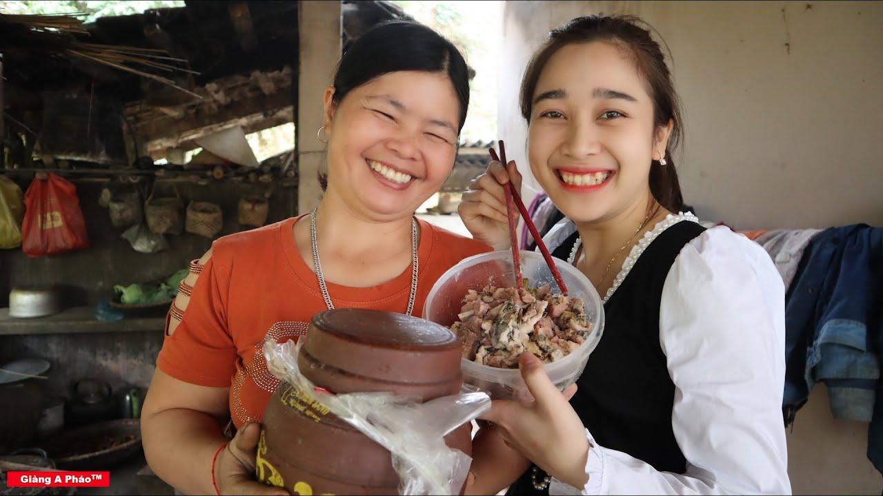 Cách chế biến thịt thính chua dân tộc Tày - Đặc sản dân tộc Tày