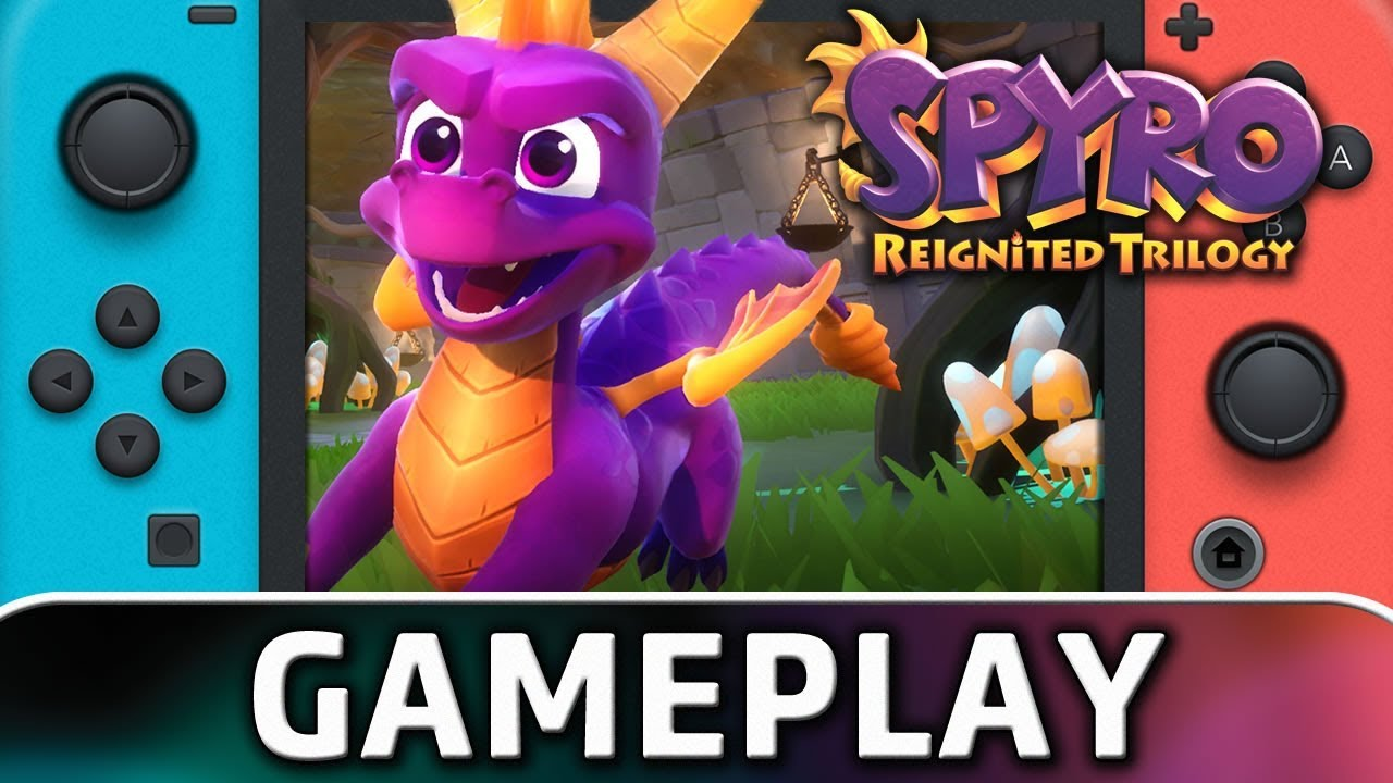 Spyro: Reignited Trilogy | First 30 Minutes on Nintendo Switch