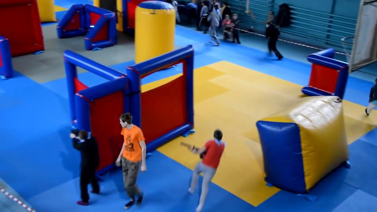 Лазертаг в Харькове в спортивном зале  Форпост