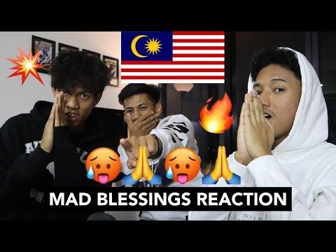 Yung Raja - Mad Blessings - MALAYSIAN REACTION