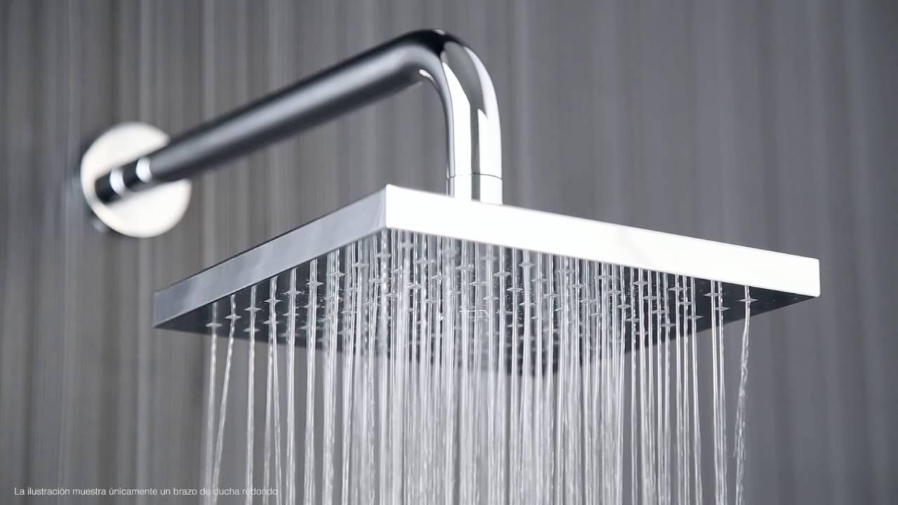 Alcachofa de ducha cuadrada rociador cabezal 200x200mm for Alcachofas para ducha