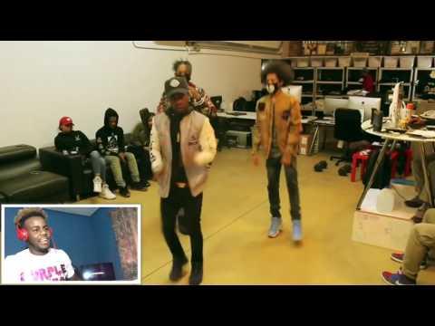 21 Savage - X Dance Video It's Lit @Shmteo_ @Ogleloo REACTION!!