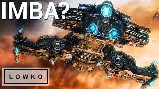 StarCraft 2: BATTLECRUISER DEATH BALL?!