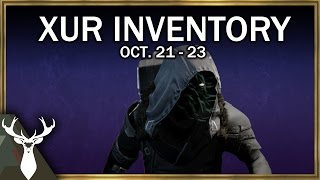 xur inventory review oct 21 23