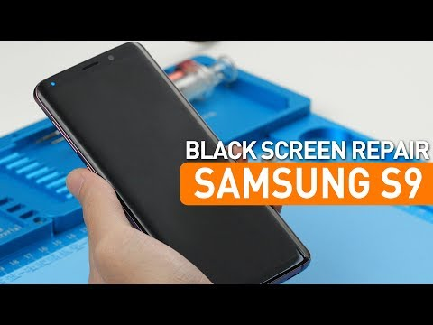How To Fix Samsung S9 No Display No Image Black Screen-Motherboard Repair 三星S9无显示图像黑屏 主板维修